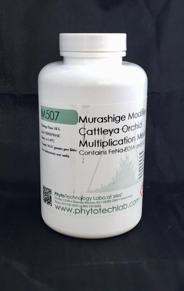 M507 MURASHIGE CATTLEYA ORCHID MULTIPLICATION MEDIUM 1L