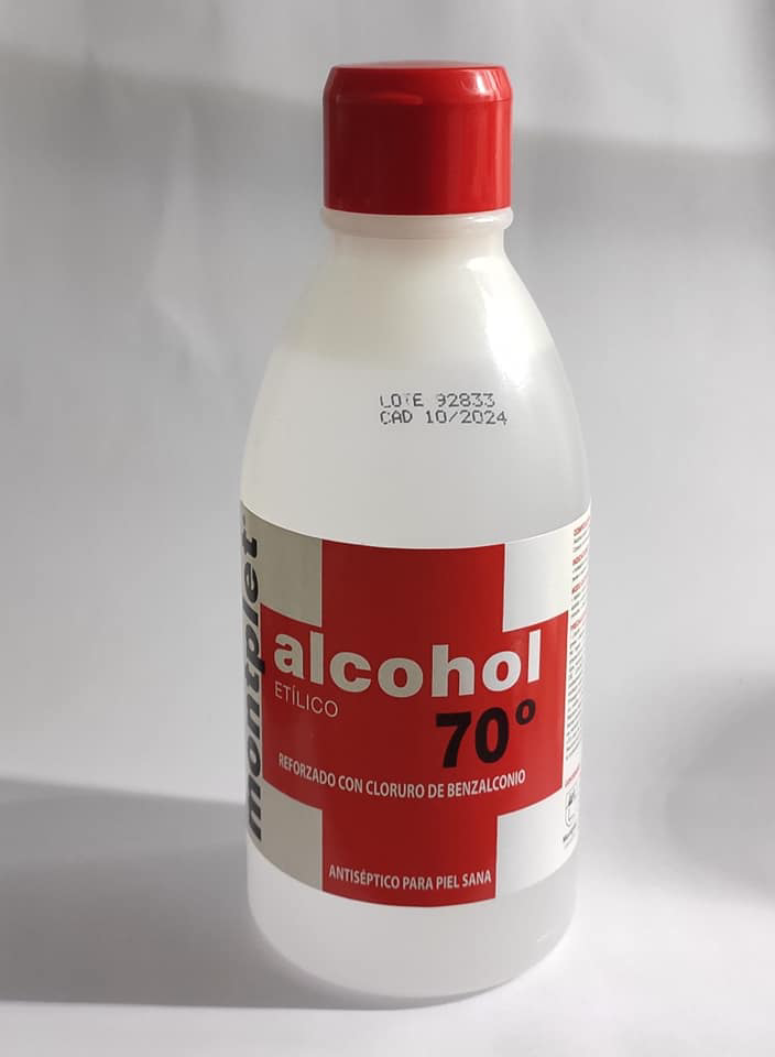 Alcohol 70 250 mL