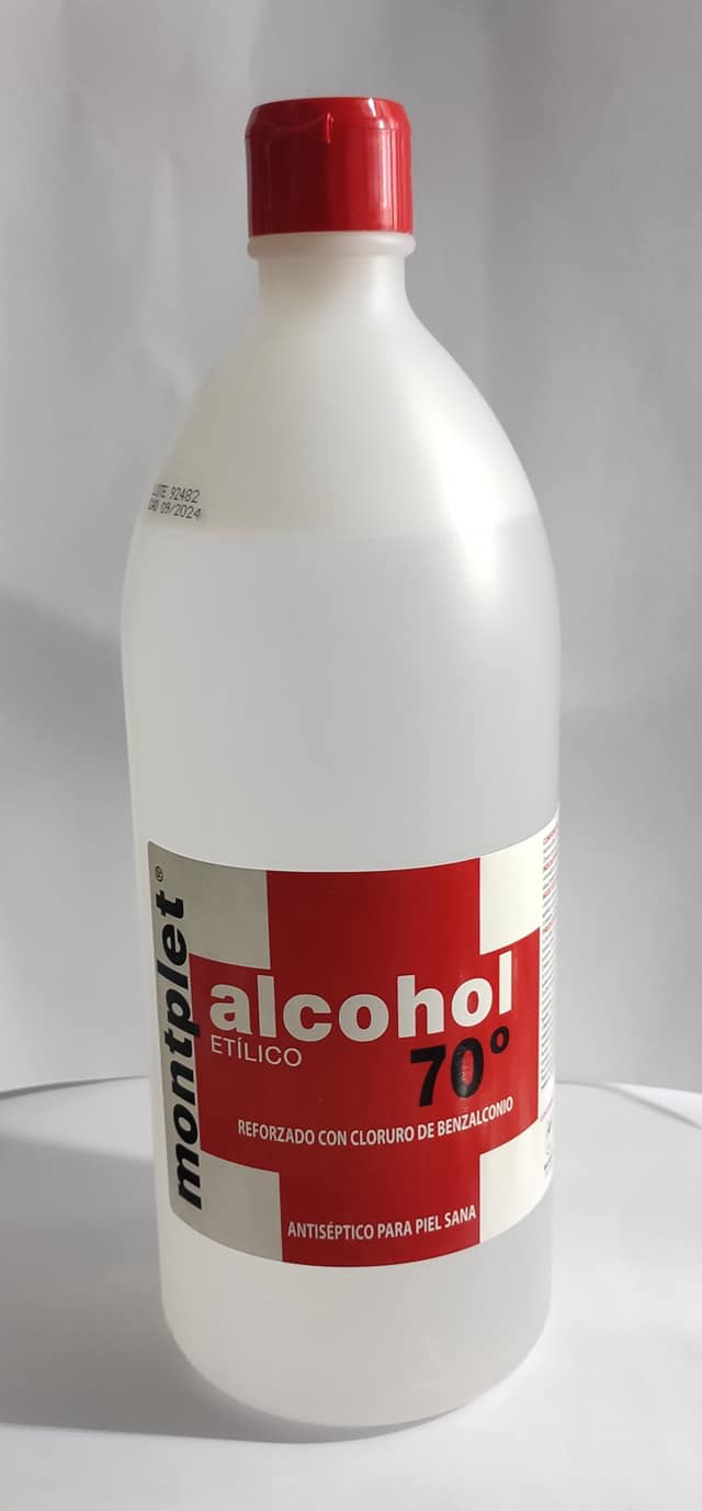 Alcohol 70 1000 mL